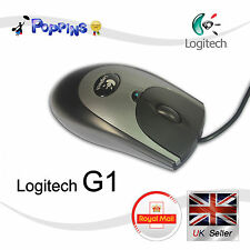New Logitech G1 Gamming Optical Wired 1000dpi Mouse Black/Grey (Not In Box)