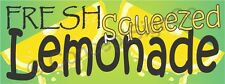 4'x10' FRESH SQUEEZED LEMONADE BANNER XL Outdoor Sign Sale Concession Stand Fair