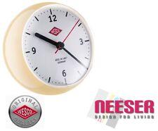 Wesco Küchenuhr mini clock Stylische Uhr mit eingebautem Timer MANDEL 322411-23