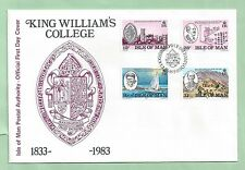 Isle of Man IOM First Day Cover FDC 1983 King William's College