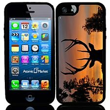Sunset Deer Silhouette For Iphone 6 Case Cover