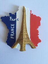 DRAPEAU FRANCAIS HOMMAGE MAGNET PARIS FRANCE TOUR EIFFEL MONUMENTS 3D