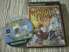 PLAYSTATION 2 PS2 LA FUGA DE MONKEY ISLAND USADO