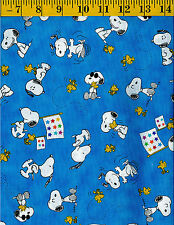 Linus Project cotton quilt fabric Charlie Brown Tossed Snoopy Woodstock B