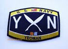 US NAVY YEOMAN YN RATING HAT PATCH USN PIN UP USS ENLISTED CHIEF GIFT USN WOW
