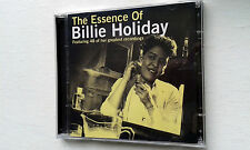 THE ESSENCE OF BILLIE  HOLIDAY 2CD SET WITH 48 TRACKS