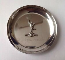 Antique 830 Solid Silver 22nd Signal Regiment Dish.