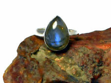 LABRADORITE   Sterling  Silver 925   RING  -   Size  M / 6   -  Gift  Boxed!