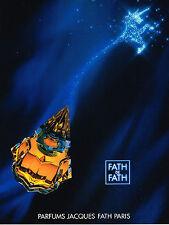 PUBLICITE ADVERTISING 045  1994  JACQUES FATH  parfum femme  FATH de FATH