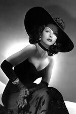 Hedy Lamarr Beautiful Vintage Fashion Pose 11x17 Mini Poster