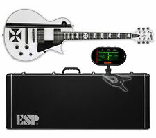 ESP LTD James Hetfield Iron Cross SW Snow White *NEW* w ESP HARD CASE + TUNER