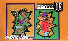 Hi-TOWN DJs - Ding A Ling 1998 RAP Tape Single Sealed HTF OOP Restless