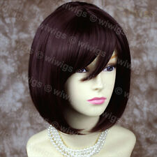 Lovely Silky Short Bob Dark Auburn wig Ladies Wigs Skin Top from WIWIGS UK