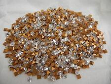 144 swarovski square shape stones,4mm crystal/foiled #4401  special offer!!