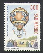 San Marino 1983 Hot Air Balloon/Aviation/Aircraft/Flight/Transport 1v (n34638)