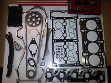 FIAT PANDA 1.3 JTD DIESEL NEW TIMING CHAIN KIT + HEAD GASKET SET + BOLTS & TOOLS