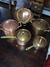 Vintage Paul Revere Copper Cookware Pans