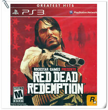PS3 Red Dead Redemption Sony PlayStation Rockstar Shooting Games