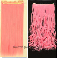 Extra Thick & Natural Long Clip in Full Head Hair Extensions human made hair M69