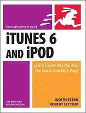 iTunes 6 and iPod for Windows & Macintosh, Lettieri, Robert, Stern, Judith, 0321