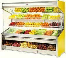 12' Open Refrigerated Produce Merchandiser, Remote by Marc Refrigeration