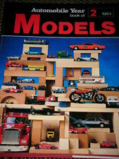 AUTOMOBILE YEAR MODELS 1983 BRUMM CORGI DG MODELS ERTL HERPA LESNEY WIKING MPC 1
