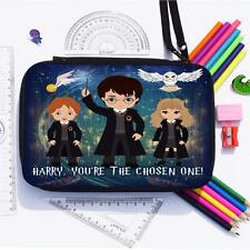 Personalised Harry Potter Magic Stationary Set Kit School Pencil Case ET07