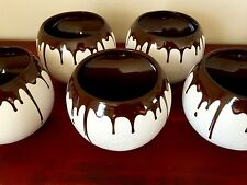 Asobu dripping Dove Chocolate Discoveries party hot Mug 14oz Coffee Cup set 5