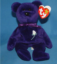 Princess Diana  -  (L3) PVC China Rare 1st edition Ty Beanie Baby