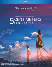 PRE  ORDER: 5 CENTIMETERS PER SECOND - BLU RAY - Region A - Sealed