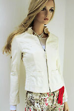 MARCCAIN Women'S Jacket N2 N3 36 S Cotton blend heller Vanilla tone