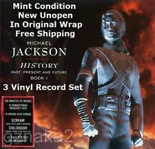 Michael Jackson History Past Present & Future Book 1 Vinyl Record Box Set Unopen