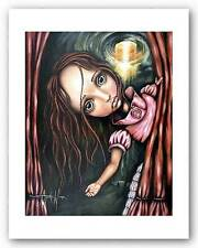 FANTASY ART PRINT It's Time Angelina Wrona