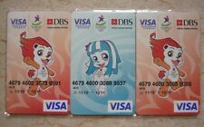 Singapore YOG Youth Olympic Games 2010 Cards Lyo & Merly Card x 3 pairs Ez-Link
