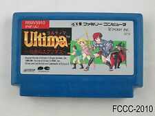 Ultima Famicom Japanese Import FC NES Nintendo Japan JP US Seller C/Fair