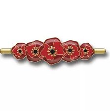 Remembrance Poppy Brooch *ANZAC Day * Remembrance Day * Memorial Day