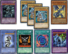 YuGiOh 9-Card HOLO Set PGLD-EN055 BLUE-EYE ULTIMATE+SHINING DRAGON+MASTER KNIGHT