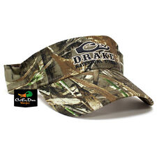 DRAKE WATERFOWL SYSTEMS LOGO VISOR CAP HAT REALTREE MAX-5 CAMO