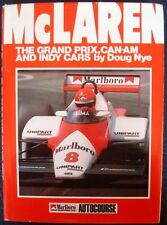 McLAREN THE GRAND PRIX, CAN-AM AND INDY CARS DOUG NYE CAR BOOK