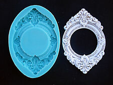 Silicone Mould VINTAGE FRAME Sugarcraft Cake Decorating Fondant / fimo mold