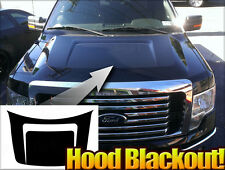 2008 - 2013- 2014Ford F-150 Matte Black Hood Black Out Stripe Graphics F150