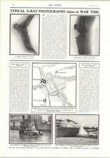 1914 Strategic Position St Georges Flooded Area Nieuport Shrapnel X-rays