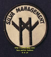 """LMH PATCH Badge  SILVA MANAGEMENT  Support Tree Property Real Estate Logo 3"""""""
