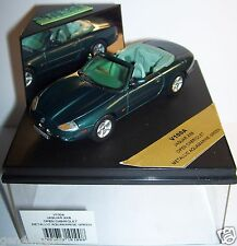 VITESSE JAGUAR XK8 OPEN CABRIOLET METALLIC AQUAMARINE GREEN 1/43 REF V100A BOX