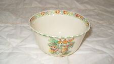 C4 Pottery Cobblestone Cottage Garden Sugar Bowl 12x7cm 2F3A WELL USED