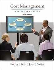 Cost Management : A Strategic Emphasis by Juras, Stout & Blocher 6th ed INT'L ED