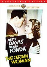 That Certain Woman New DVD