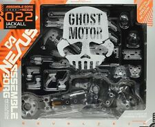 New Kaiyodo Assemble Borg NEXUS 022 Jackal & Yeager ghost motor ABS&PVC