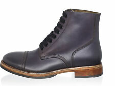 Florsheim by Duckie Brown Brogued Boots LUDGATE 11 US 44 EU  Free US Ship NEW