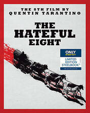 The Hateful Eight (Blu-ray / DVD 2016 SteelBook Only  Best Buy) New Exclusive